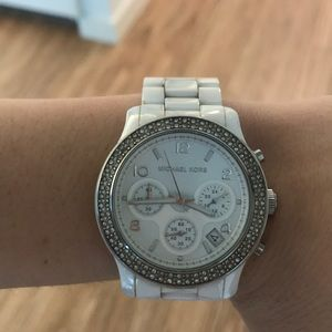 Ceramic Michael Kors Watch